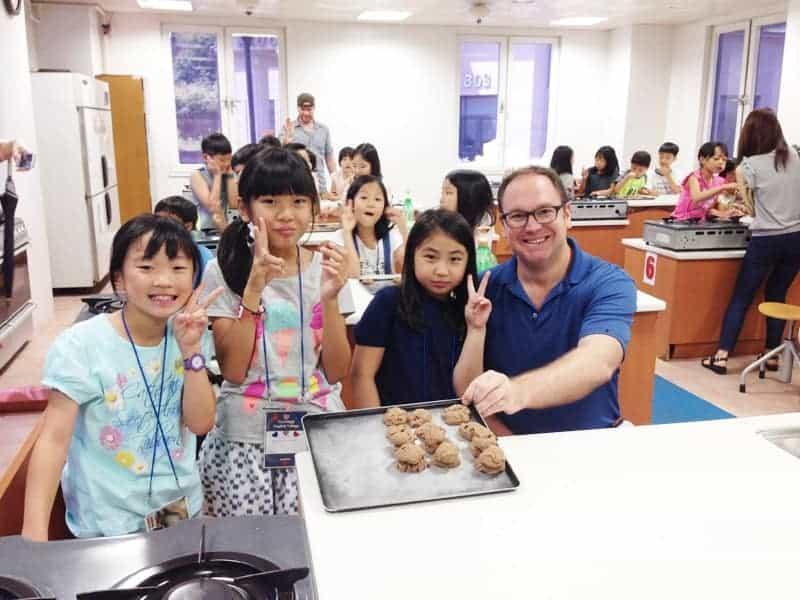 韓国パジュ英語村国際交流キャンプ