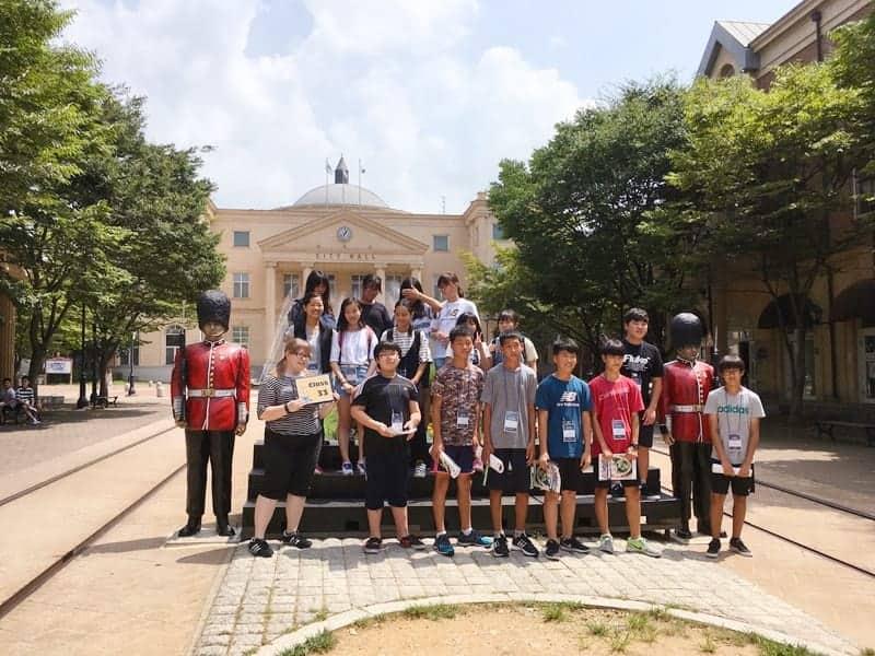 韓国英語村キャンプ