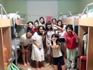 中学生寝室