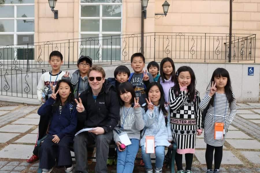 パジュ英語村国際交流キャンプ