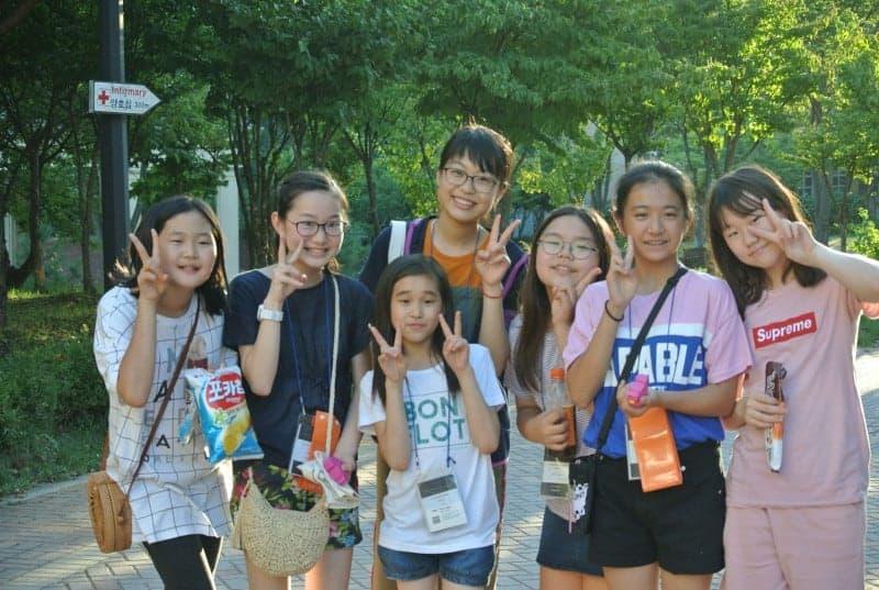 韓国英語村サマーキャンプ